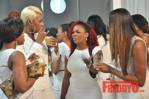 Cynthia Bailey Hosts White Party For RHOA